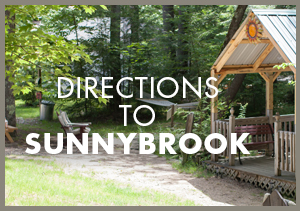 Directions to Sunny Brook Cottages NH